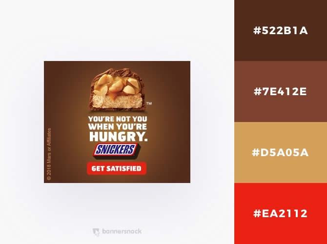 Cách phối màu trong thiết kế đồ hoạ quảng cáo : Màu caramel