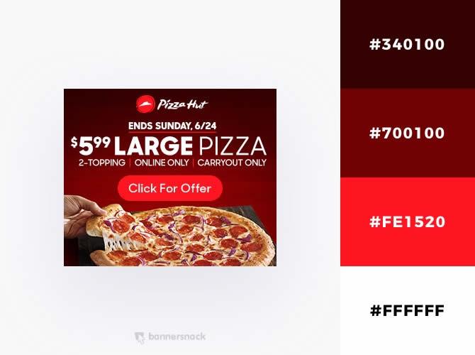 Cách phối màu trong thiết kế đồ hoạ quảng cáo : Sắc thái khao khát