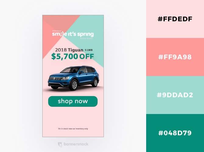 Cách phối màu trong thiết kế đồ hoạ quảng cáo : Bộ phấn màu Marsmallow