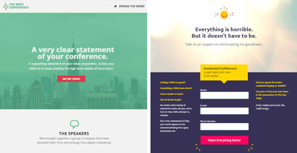Thiết kế Landing Page 2019 : Landing Page Unbounce