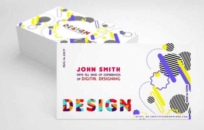 Mẫu card visit miễn phí 2019 : Thiết kế sáng tạo