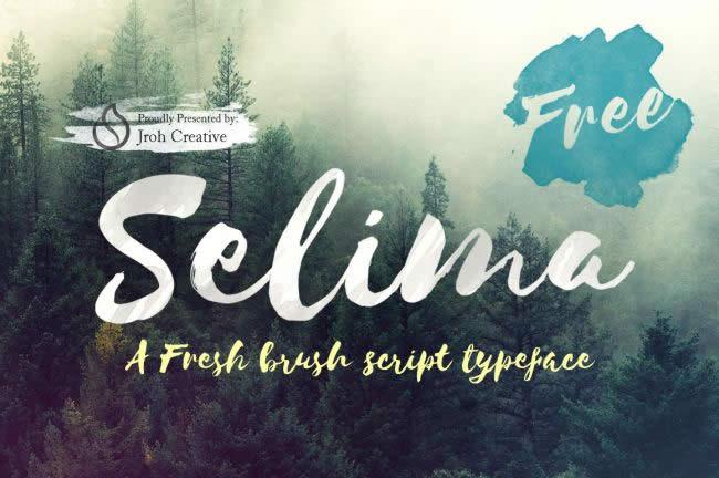 lambanner-font-Selima