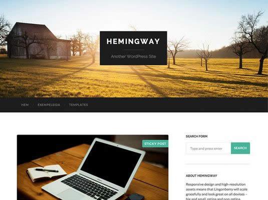 lambanner-theme-wordpress-mien-phi-hemingway