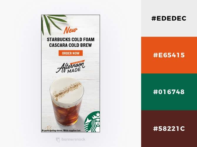 Cách phối màu trong thiết kế đồ hoạ quảng cáo : Kì nghỉ nhiệt đới