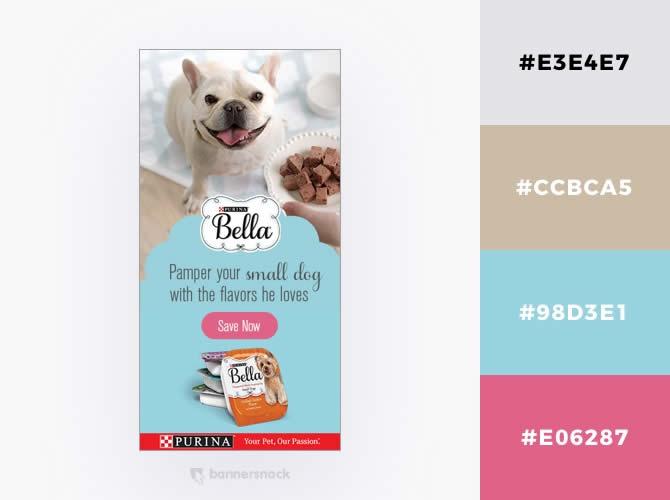 Cách phối màu trong thiết kế đồ hoạ quảng cáo : Màu xanh nhạt