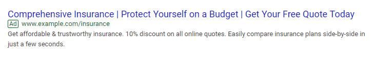 Quảng cáo văn bản tìm kiếm trên Google
