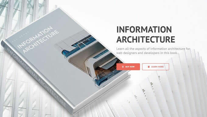 Thiết kế Landing Page 2019 : Landing Page ArchBook