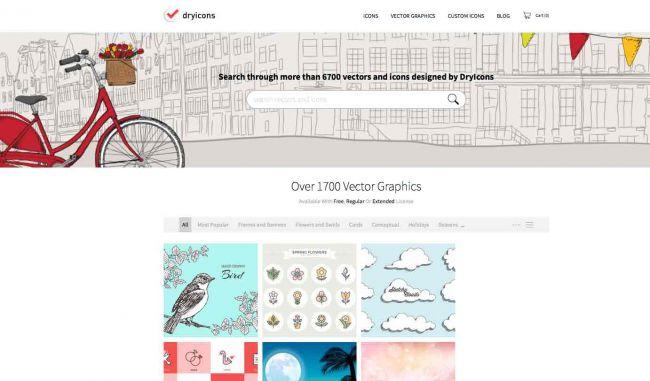 Nguồn ảnh vector miễn phí : DryIcons