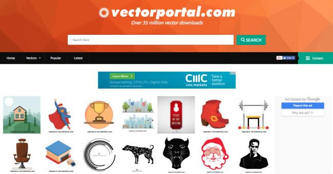 Nguồn ảnh vector miễn phí : Vectorportal