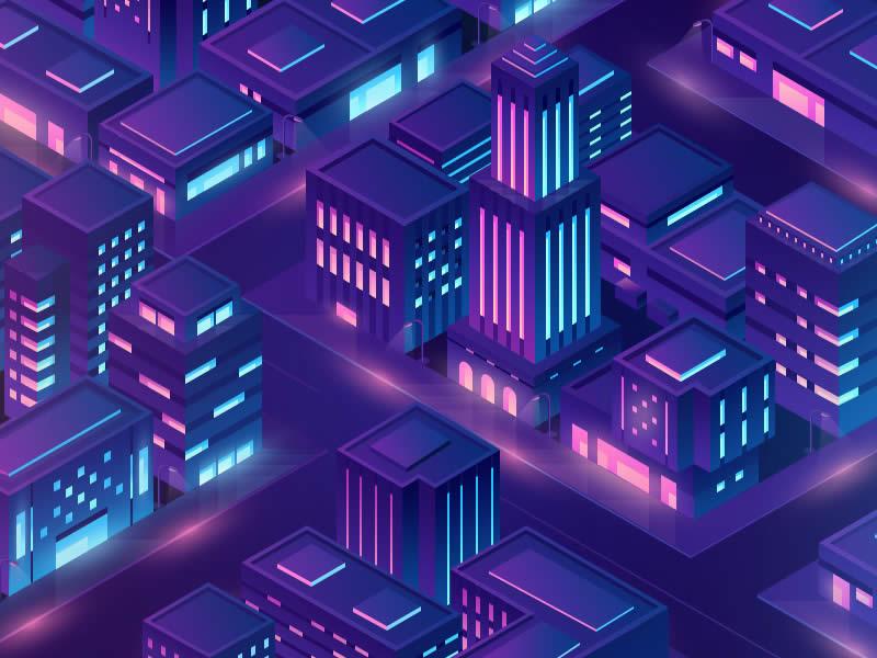 Xu hướng thiết kế đồ họa 2020 : Isometry