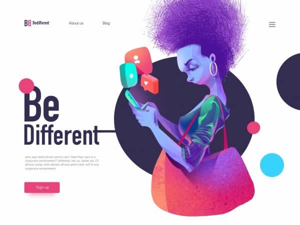 Mẹo thiết kế đồ hoạ 2020 : Sự khác biệt