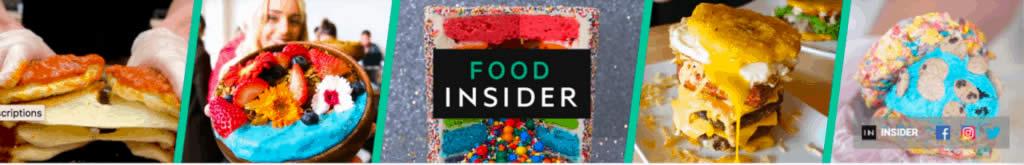 Ảnh bìa Youtube : Food Insider