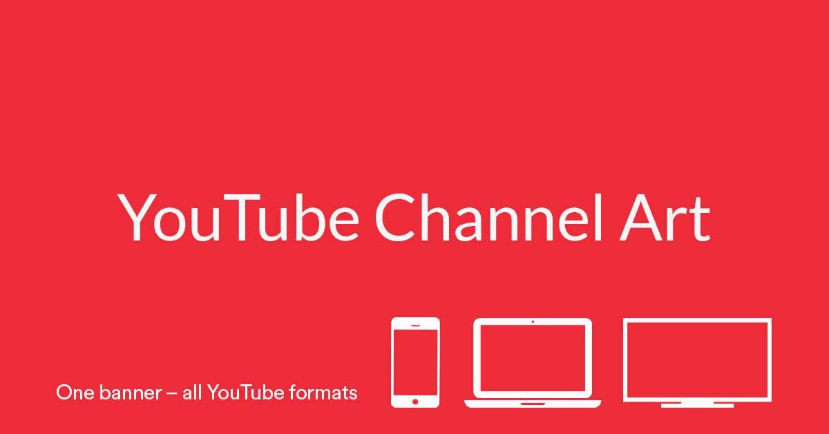 Kích thước ảnh bìa youtube chuẩn 2020