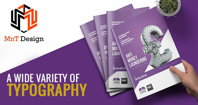 Xu hướn thiết kế Brochure 2020 : Kiểu chữ đa dạng