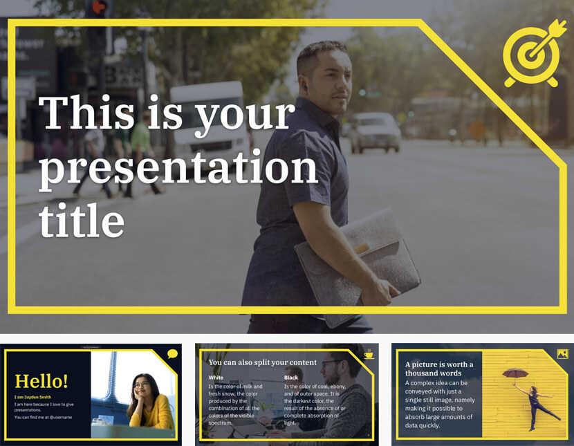 Mẫu slide trình chiếu miễn phí 2020