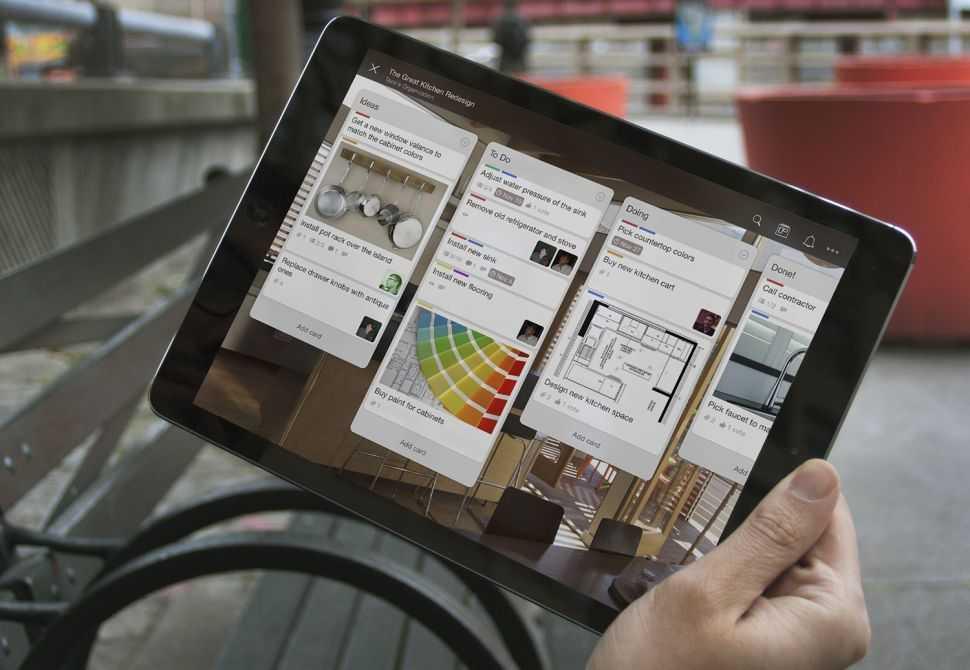 Ứng dụng thiết kế trên iPad