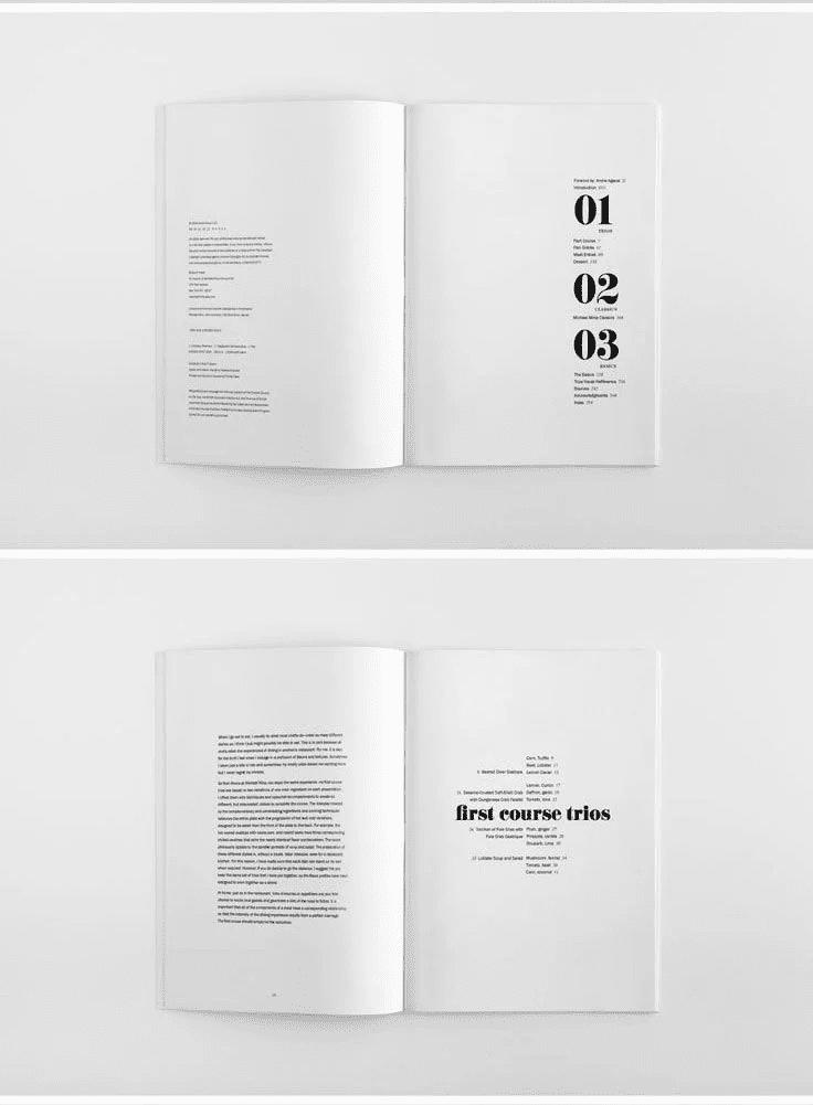 Thiết kế tối giản : Lời khuyên và ví dụ hữu ích