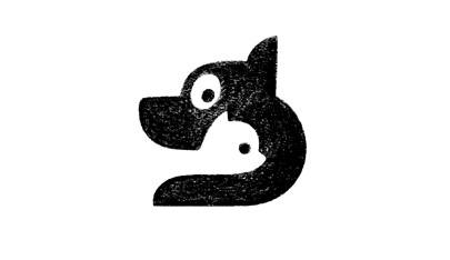 Cat-Dog-minimalist-logo