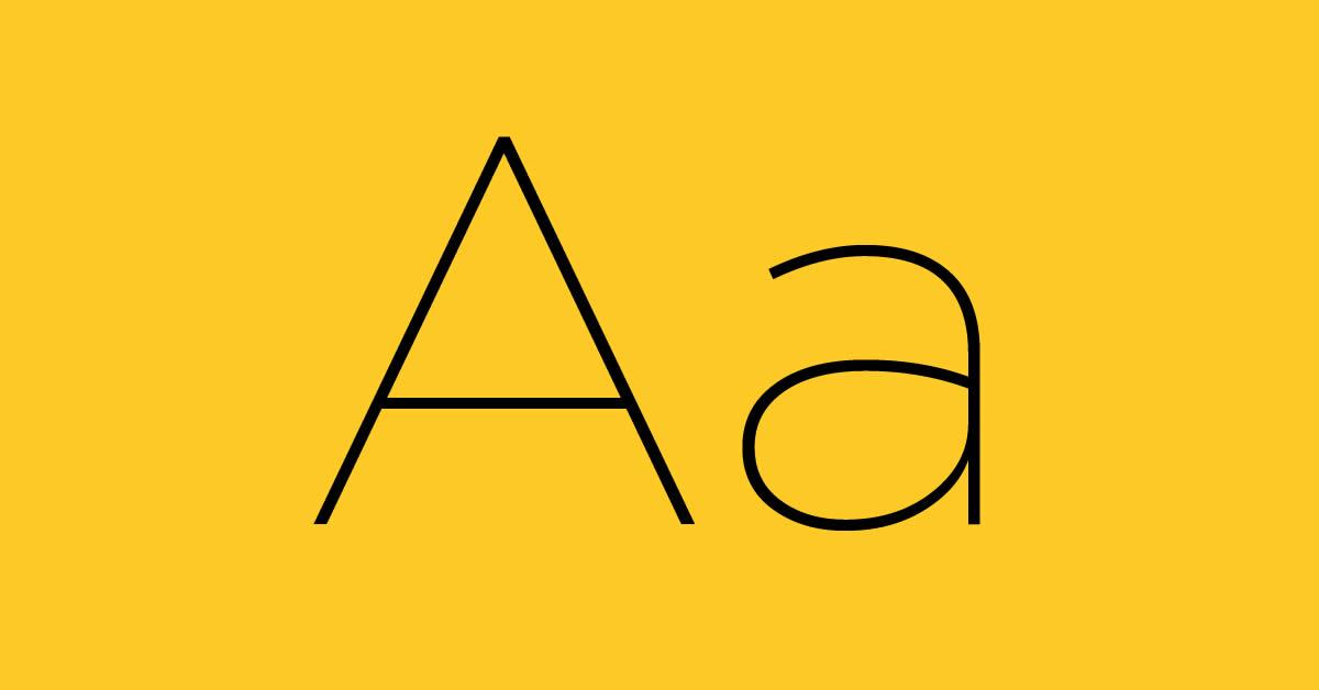 Font chữ miễn phí 2020