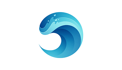Wave-gradient-logo