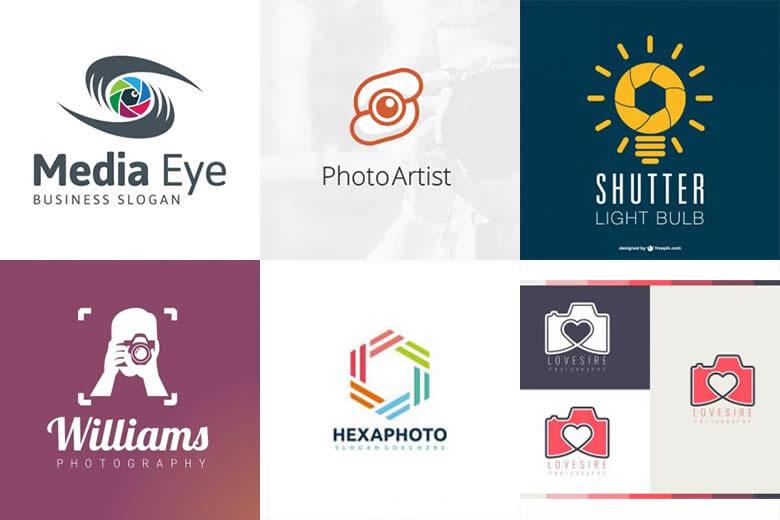 Mẫu logo nhiếp ảnh miễn phí nhiều phong cách