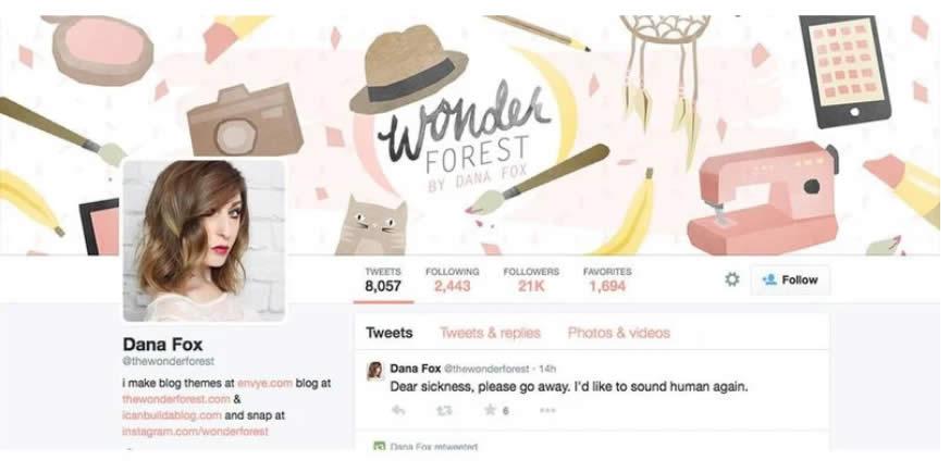 Thiết kế banner Twitter : Tham khảo những mẫu đẹp