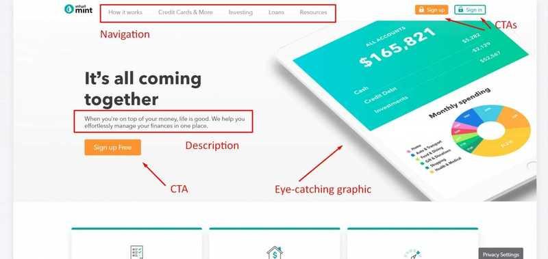 Ví dụ website bán hàng hiệu quả