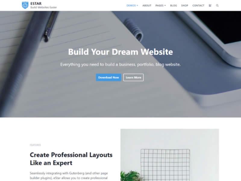 Theme WordPress miễn phí bán hàng 2020
