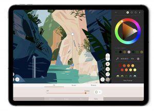App vẽ cho iPad tốt nhất 2021