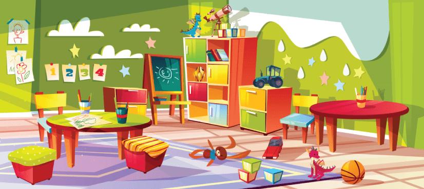 Hình nền giáo dục, trường học miễn phí phong cách hoạt hình !