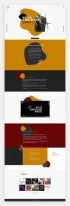 Mẫu website one-page đẹp và chuyên nghiệp