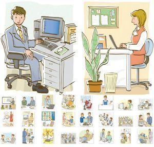 Mẫu nhân vật hoạt hình kinh doanh miễn phí chất lượng cao !