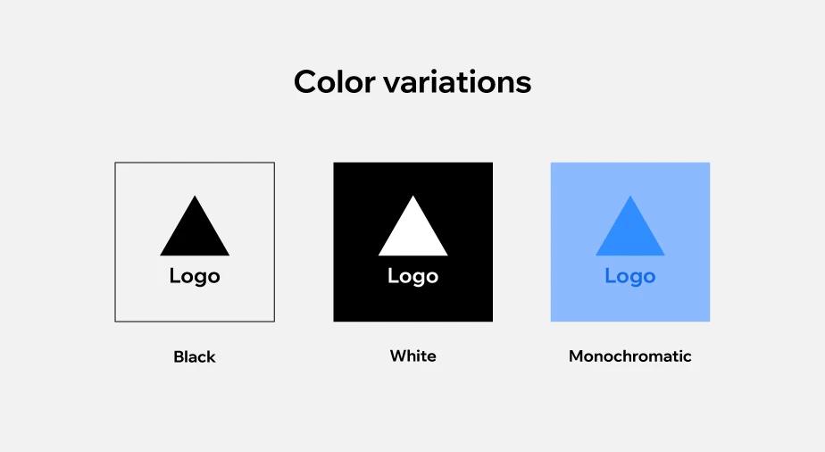 Kích thước logo tiêu chuẩn